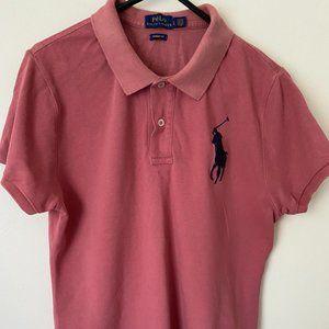 Ruby Coloured Ralph Lauren polo